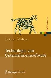Technologie von Unternehmenssoftware: Mit SAP-Beispielen