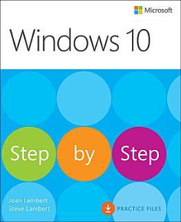 Windows 10 Step by Step Book