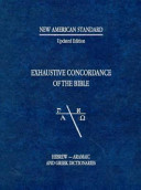 New American Standard Exhaustive Concordance of the Bible PDF