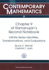 Chapter 9 of Ramanujan's Second Notebook: Infinite Series Identities, Transformations, and Evaluations, Part 9