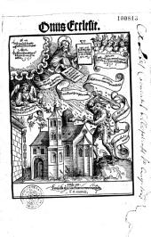 Onus Ecclesiae (B. Pirstinger authore): opus compilatum est Anno. 1519