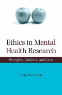 Ethics in Mental Health Research PDF
