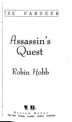 Assassin s Quest