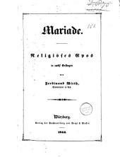 Mariade: religiöses Epos in zwölf Gesängen