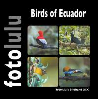 Birds of Ecuador PDF
