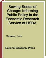 Sowing Seeds of Change PDF