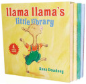 Llama Llama s Little Library Book