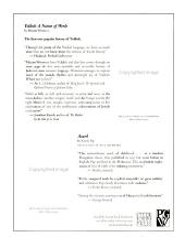 Jewish Book World PDF