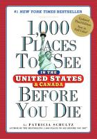 1 000 Places to See in the United States and Canada Before You Die PDF