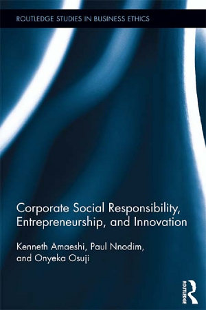 Corporate Social Responsibility  Entrepreneurship  and Innovation PDF
