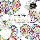Vive Le Color Hearts Adult Coloring Book