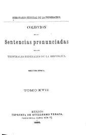 Semanario judicial de la Federación: Volumen 2;Volumen 17