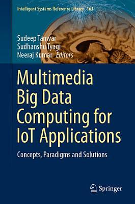 Multimedia Big Data Computing for IoT Applications PDF