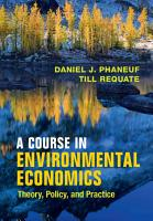 A Course in Environmental Economics PDF