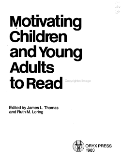 Motivating Children and Young Adults to Read  2 PDF