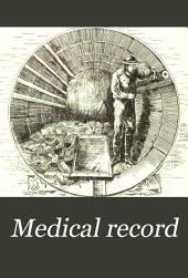 Medical Record: Volume 37