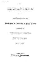 The Missionary Herald PDF