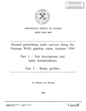 Geological Survey of Canada, Open File 3070