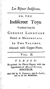 Les bijoux indiscrets: or, The indiscreet toys, Volume 2