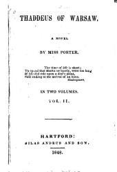 Thaddeus of Warsaw: A Novel, Volume 2