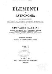 Elementi di astronomia ...