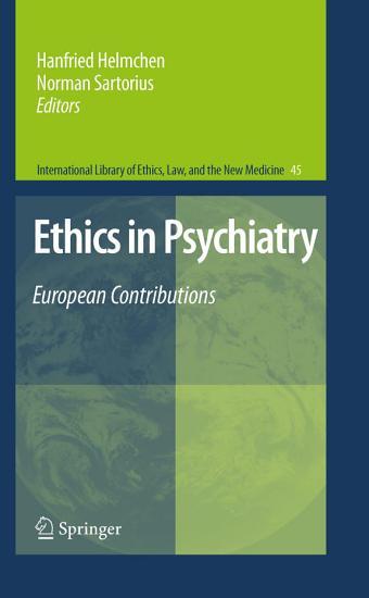Ethics in Psychiatry PDF