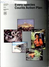 Every species counts action plan