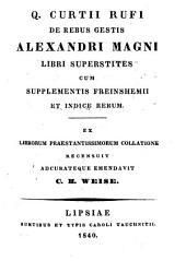 De rebus gestis Alexandri Magni libri superstites