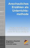 Anschauliches Erzhlen Als Unterrichtsmethode PDF