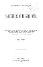 Annual Report of the Pennsylvania Board of Agriculture for the Year ...