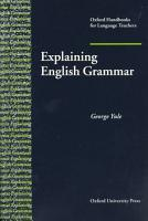 Explaining English Grammar PDF