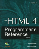The HTML 4 Programmer's Reference