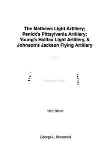 The Mathews Light Artillery