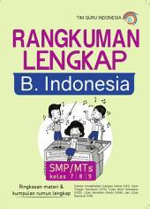 Rangkuman Lengkap Bahasa Indonesia; SMP / MTs kelas 7/8/9