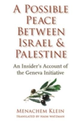 Download A Possible Peace Between Israel and Palestine Book