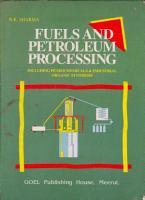 Fuels and Petroleum Processing PDF
