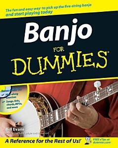 Banjo For Dummies Book