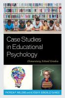 Case Studies in Educational Psychology PDF