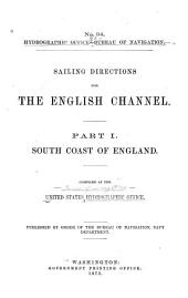 Sailing Directions for the English Channel: South coast of England