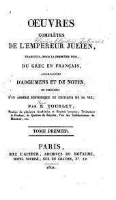 OEuvres, traduites, accompagnées de notes: et précedées d'un abrégé hist. et crit. de sa vie