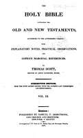 The Holy Bible  Containing the Old and New Testaments PDF