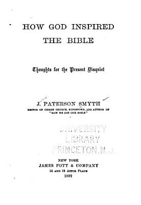 How God Inspired the Bible PDF