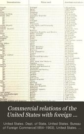 Commercial relations of the United States with foreign countries: Volume 1