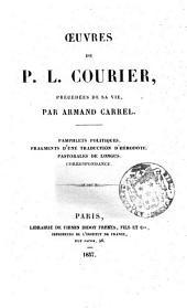 suvres de P.L. Courier