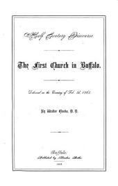 Half Century Discourse: The First Church in Buffalo