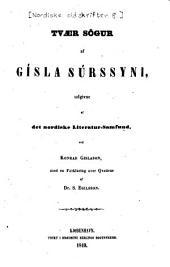 Tvær sögur af Gísla Súrssyni
