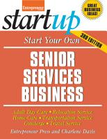 Start Your Own Senior Services Business PDF