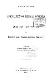 Proceedings and Address of the ... Annual Session