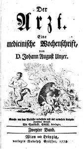 Der Arzt: eine medicinische Wochenschrift, Band 2