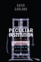 Peculiar Institution PDF